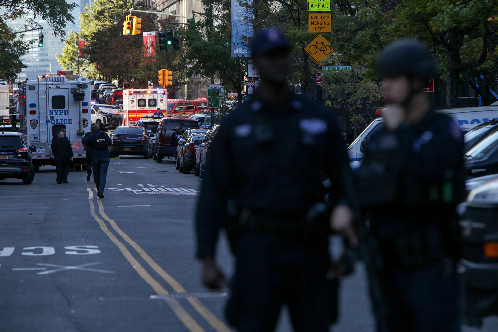 China denounces NYC deadly attack