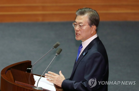 Moon Jae-in: S. Korea will not develop or possess nukes