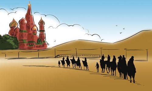 China-Russia ties broaden global horizon