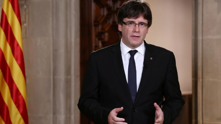 Deposed Catalan leader says not seeking political asylum in Brussels