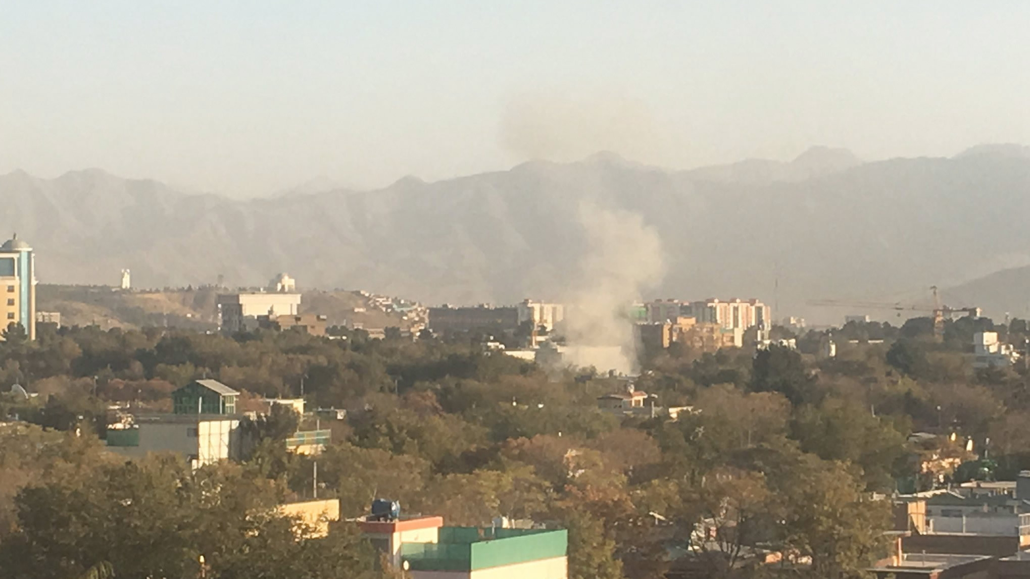 Suicide bomber kills 4, wounds 13 in Kabul's diplomatic zone