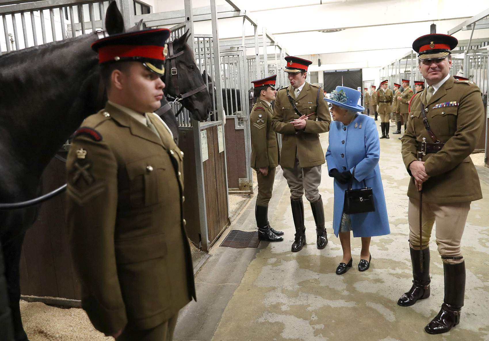 Heathrow launches probe after queen's  security details found