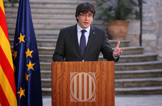 Former leader of Catalonia refuses the sack by Spanish central government