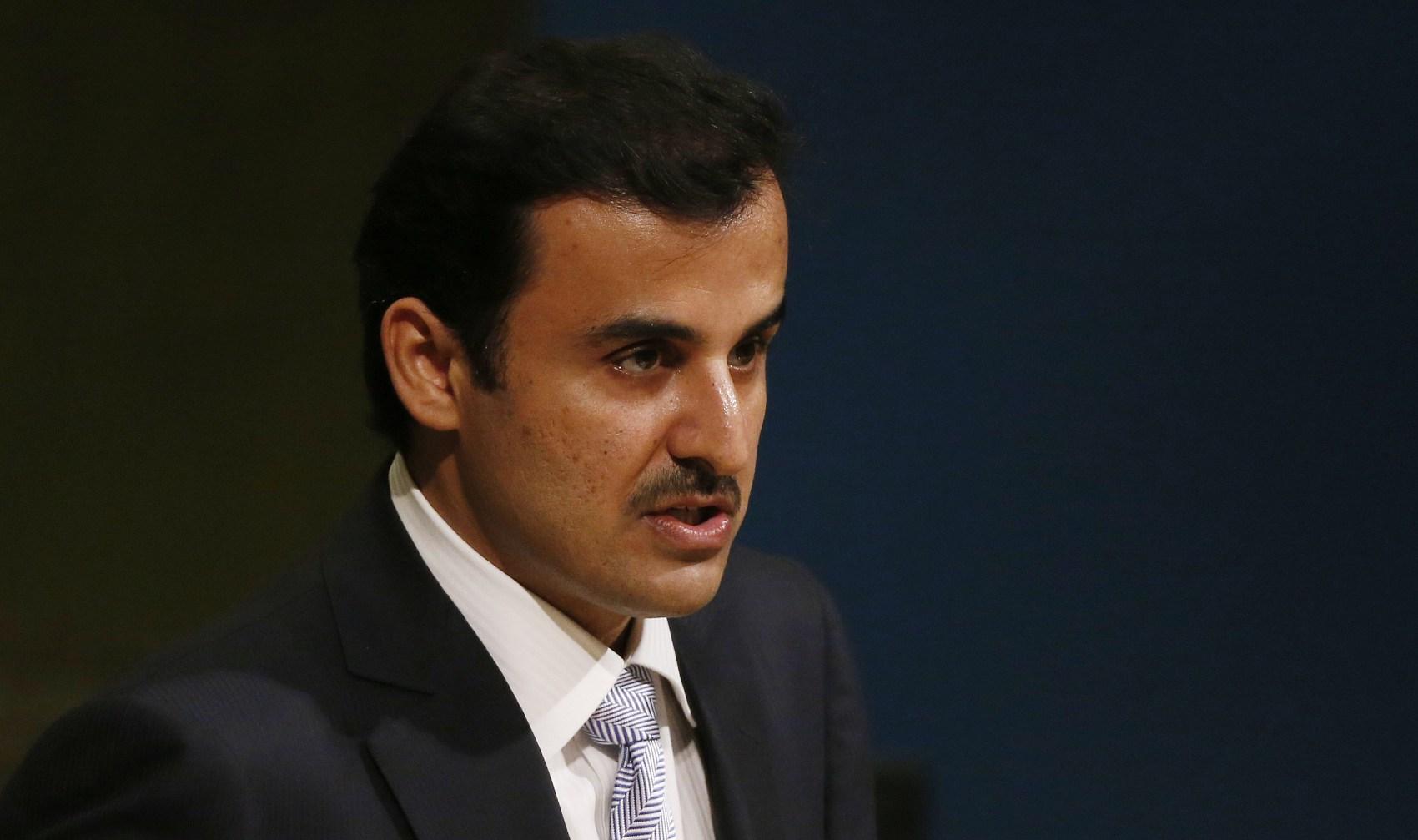 Qatar's emir warns against military action in Gulf dispute