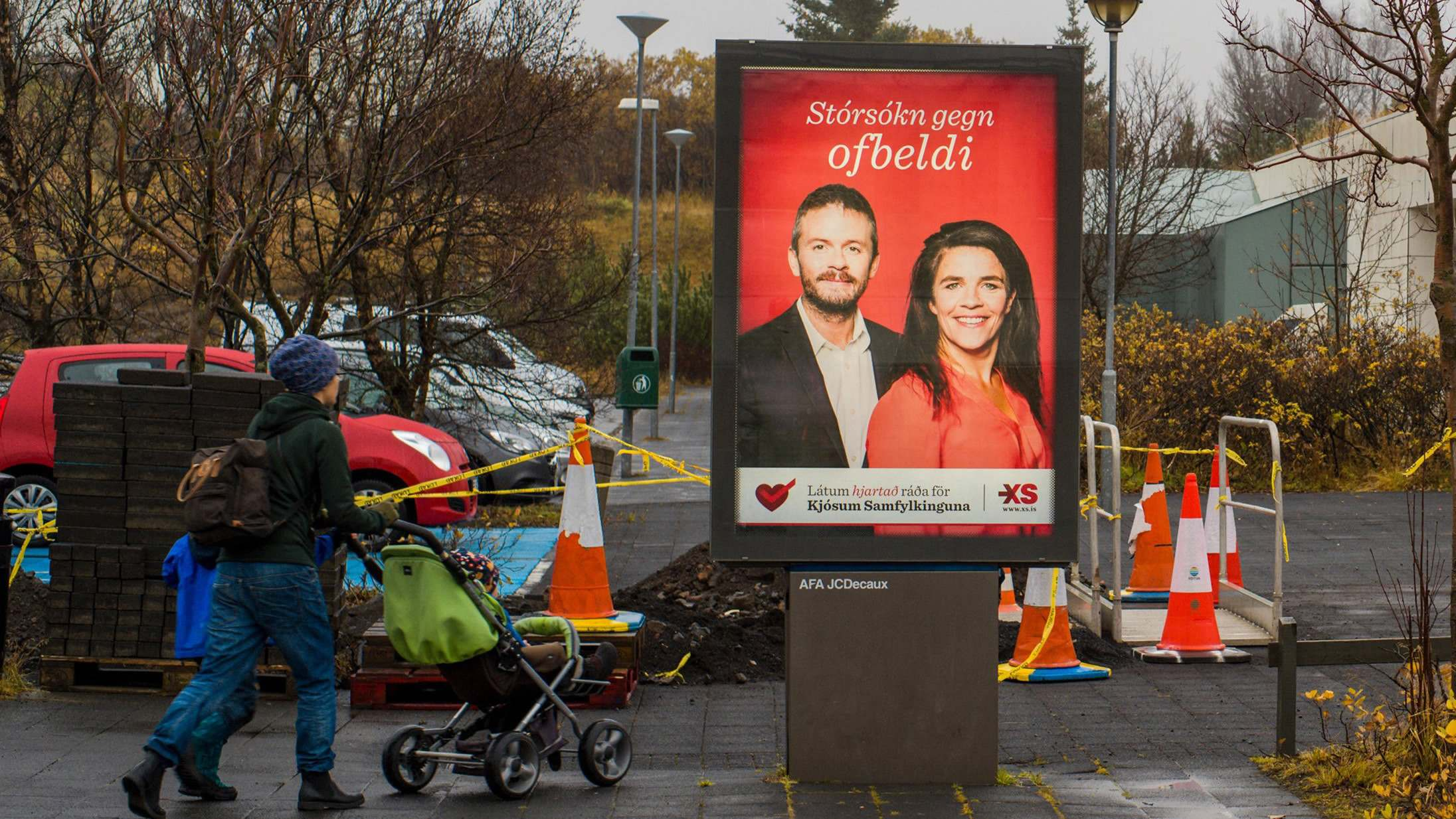 Iceland's left-wing parties eye victory as political establishment hit by scandals