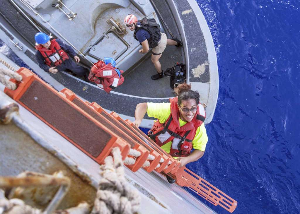 Sharks and lost hope: 2 women rescued after 5 months at sea