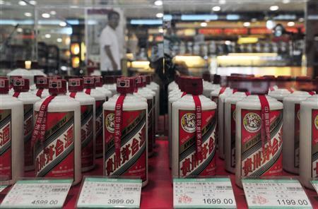 China liquor Moutai posts biggest profit jump since 2011