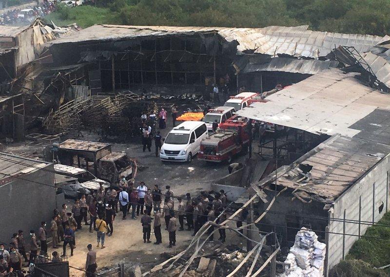 Explosion, inferno in Indonesia kills 47