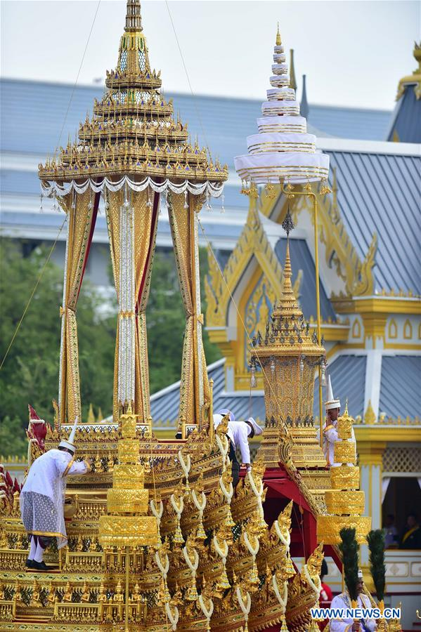 Thailand begins royal cremation ceremony for late King