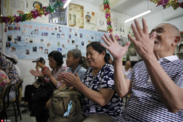 Across China: Volunteers 'read' movies for the blind