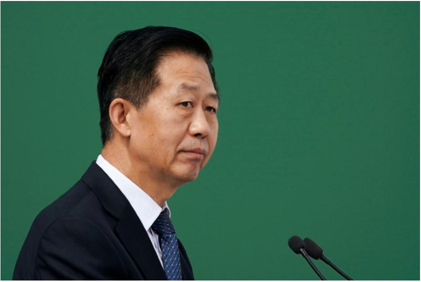 China finance minister says fiscal deficit to be under 3 percent target