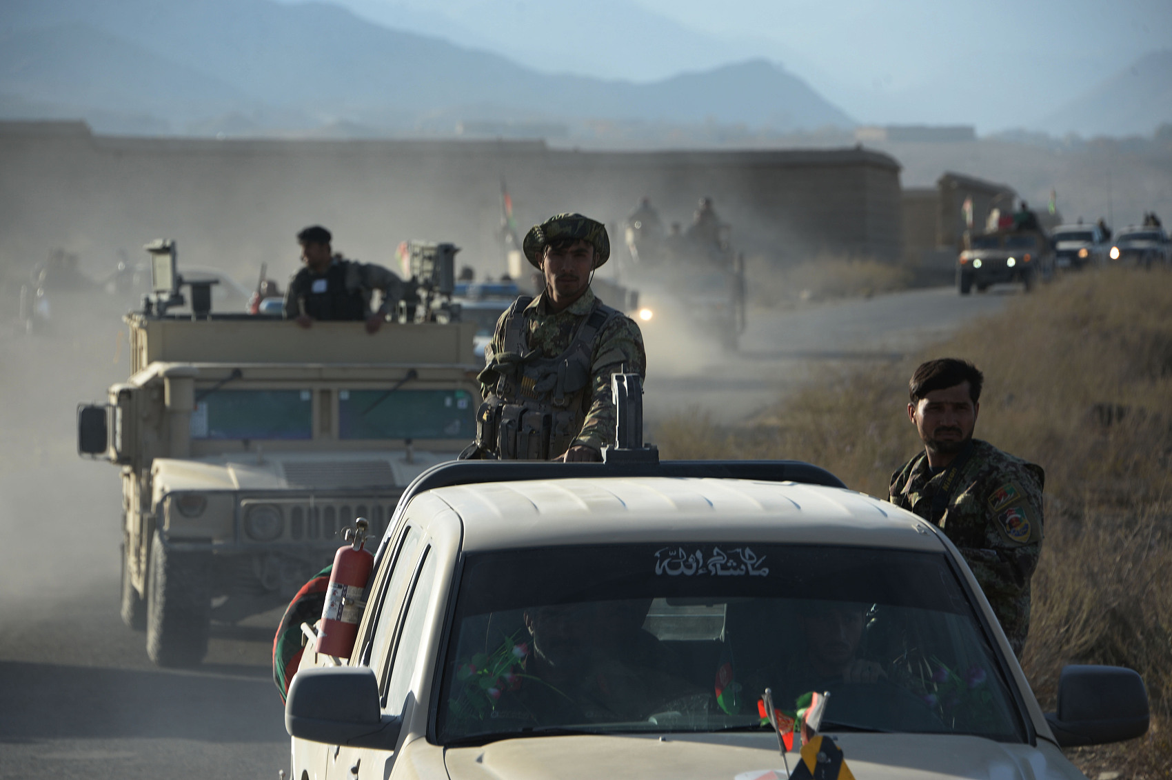 12 militants killed as Taliban, IS clash in N. Afghan province