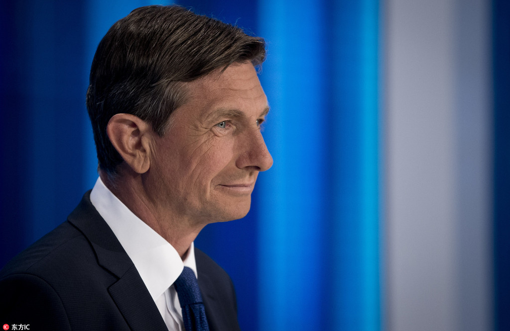 Slovenians choose president as Pahor seeks re-election