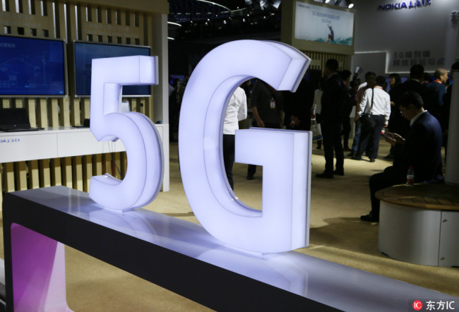 5G coming in three years, half of users will be Chinese