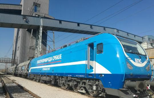 First Chinese electric locomotive runs in Serbia