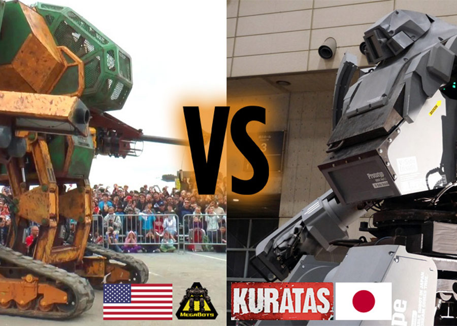 China's giant combat robot braces for upcoming fight with robots from US, Japan