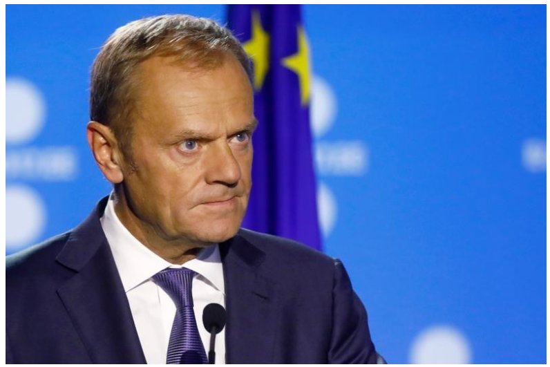 EU's Tusk proposes opening internal preparations of next phase of Brexit talks