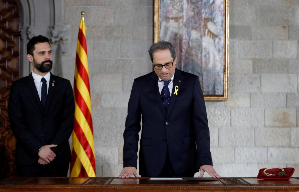 Catalonia's cabinet picks are 'provocation' says Spain's ruling party