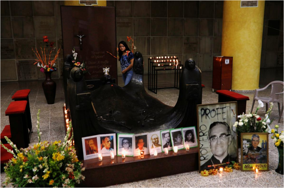 Slain Salvadoran archbishop, former pope to be made saints in Vatican in October