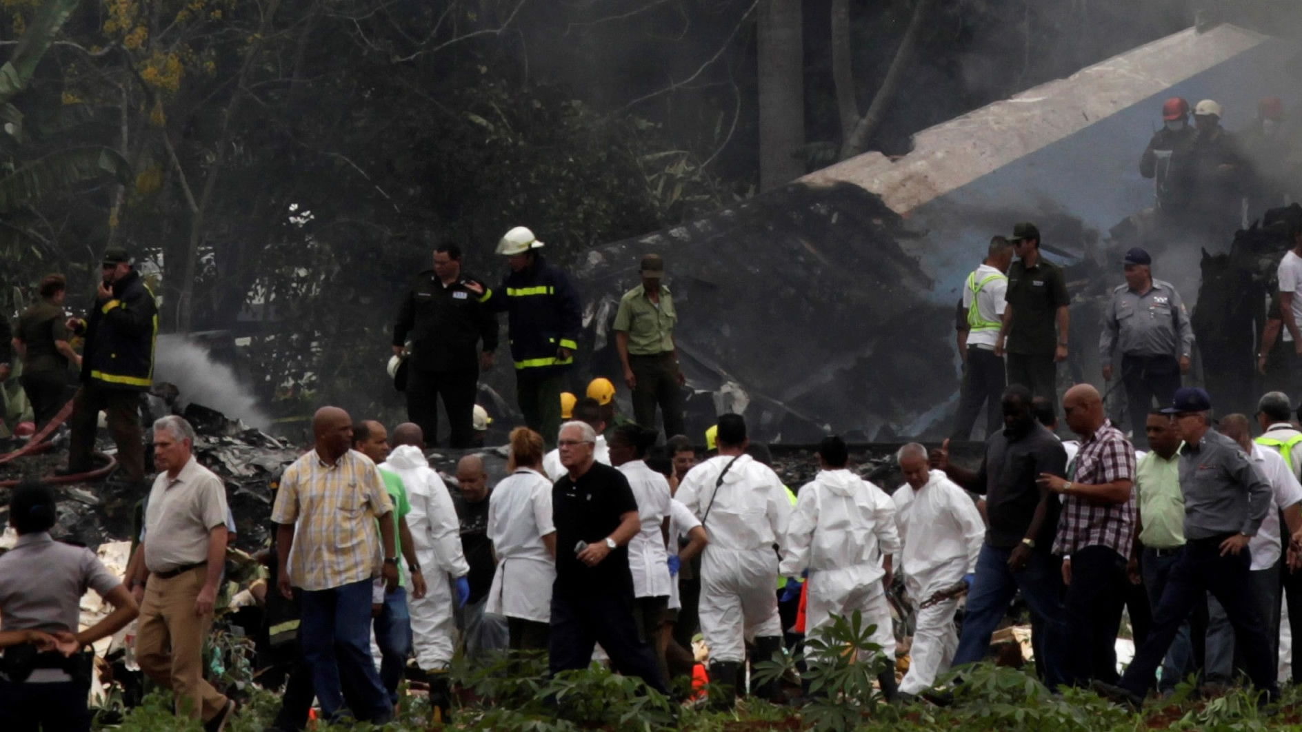 Cuba plane crash: 110 confirmed killed, black box recovered