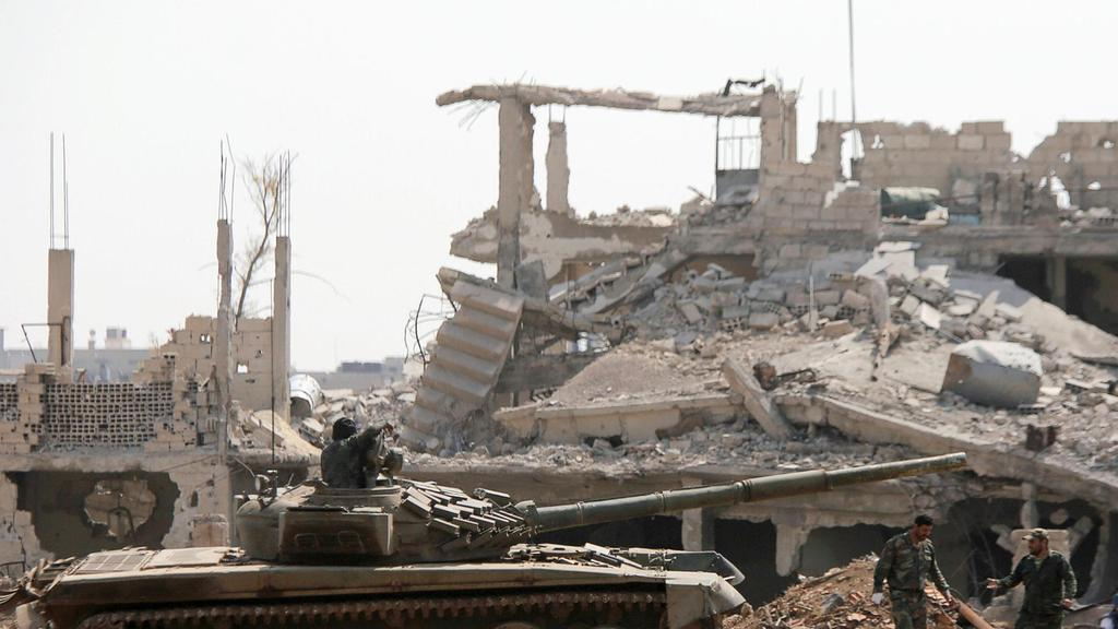 IS evacuations from last Damascus pocket over: monitor