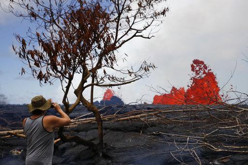 Kilauea Volcano's violent eruption tears through Hawaii