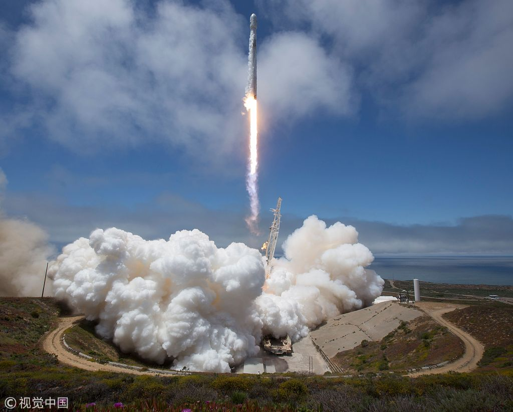 SpaceX launches NASA and Iridium satellites with a used rocket