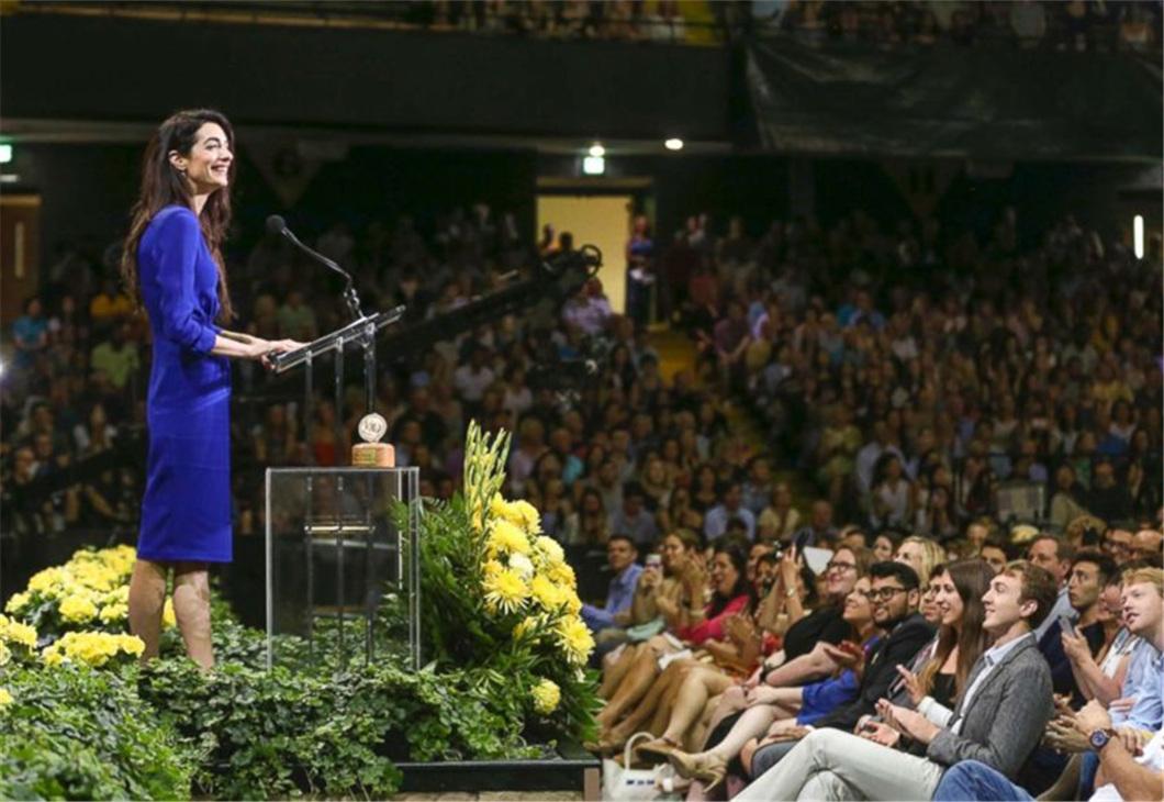 Video   Amal Clooney to Vanderbilt grads: we need courage