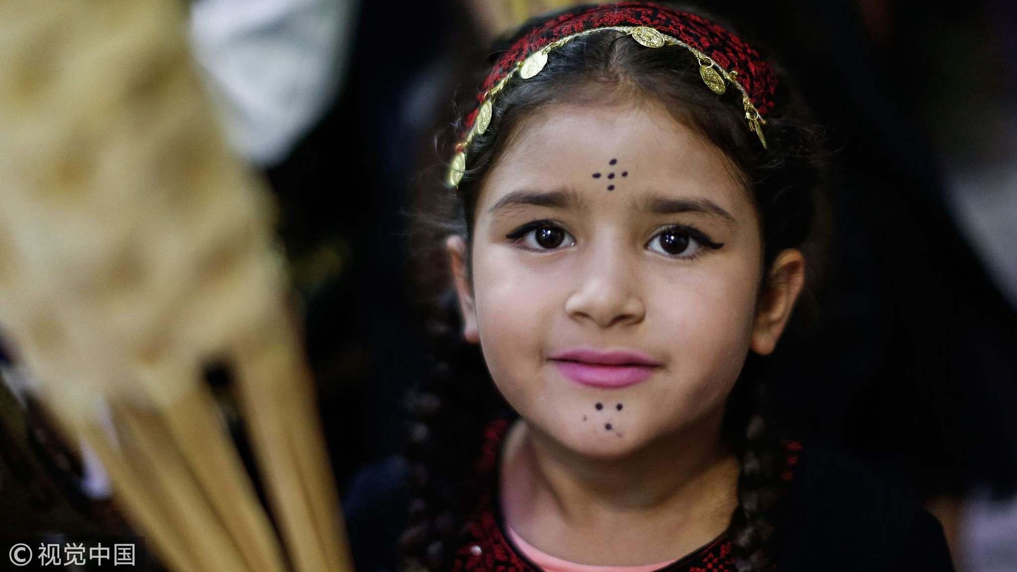Palestinians celebrated Ramadan in the old city in Jerusalem