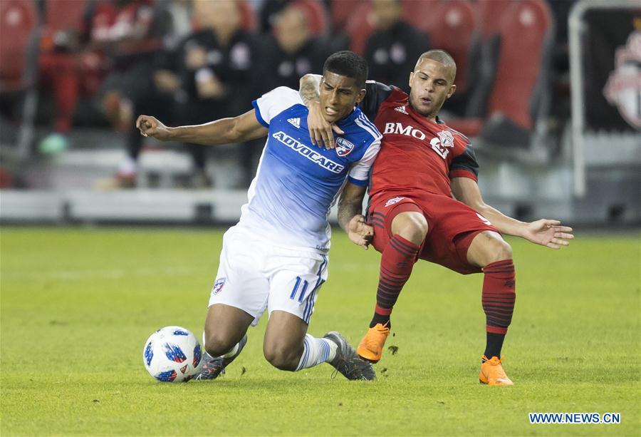 FC Dallas beats Toronto FC 1-0 during 2018 MLS match