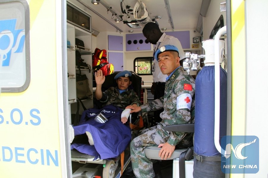 """Interview: """"We are very grateful for China's contributions,"""" says UN peacekeeping spokesman"""