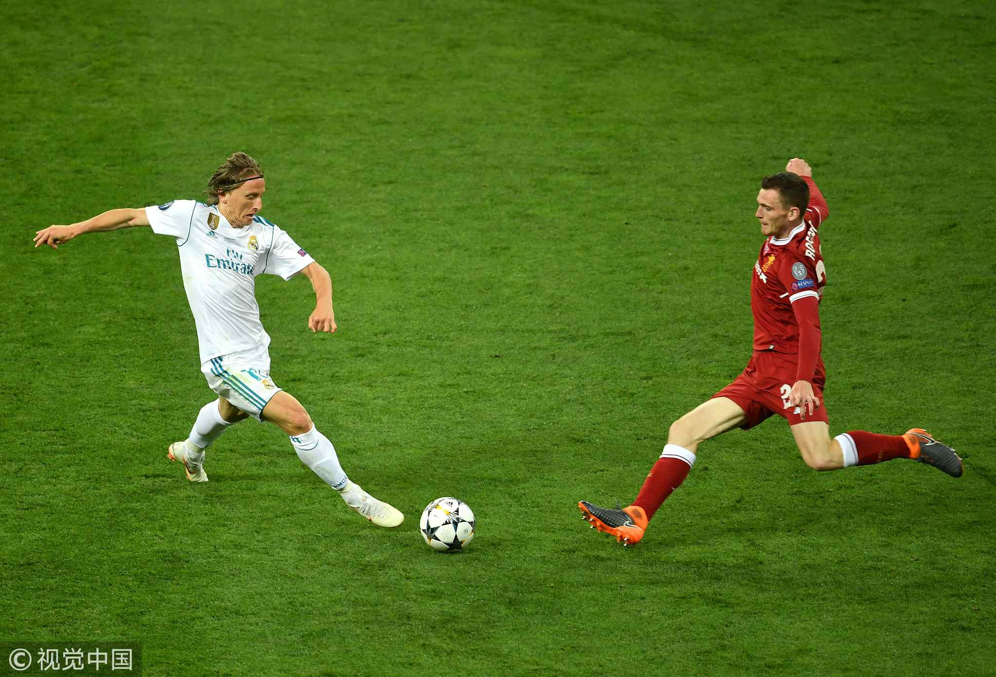 Real Madrid beat Liverpool 3-1 to win third straight UEFA Champions League