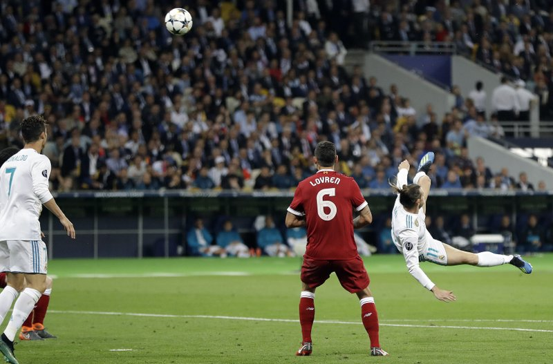 Real Madrid beats Liverpool 3-1 to win Champions League