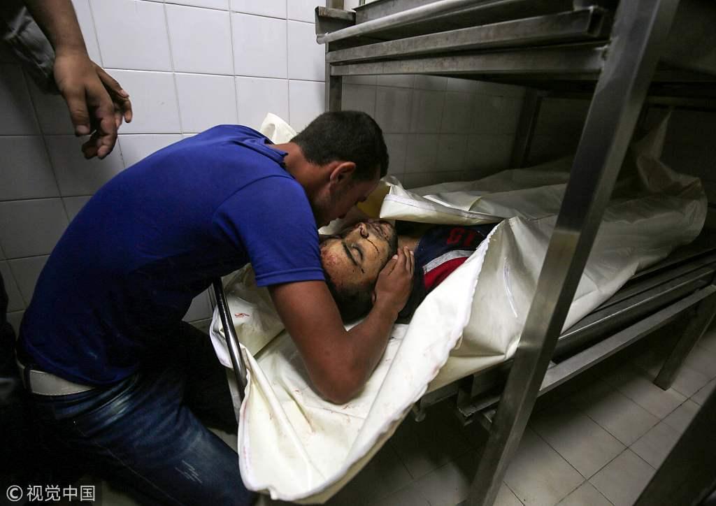 2 Palestinians killed in Israeli artillery attack in Gaza