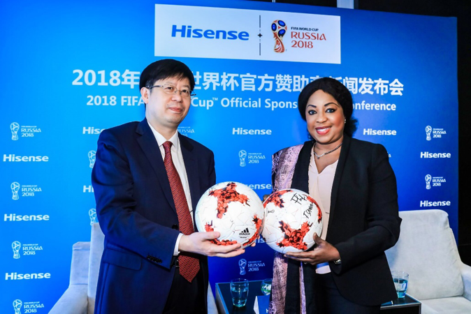 Hisense TV users to watch World Cup live on internet