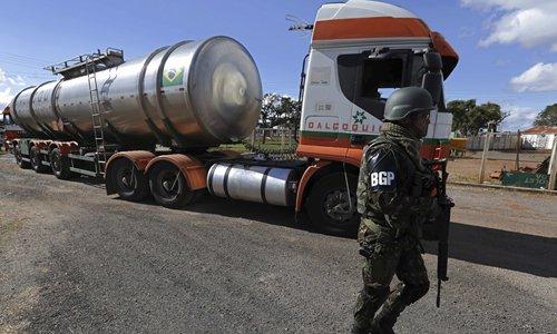 Brazil truckers' nationwide strike sees slight easing