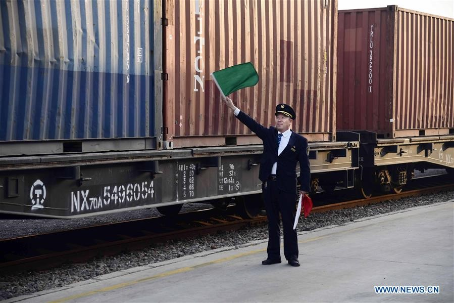 More than 3,000 freight trains depart from Qingdao to Central Asia