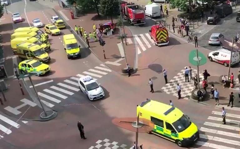 Two Belgian policewomen shot dead