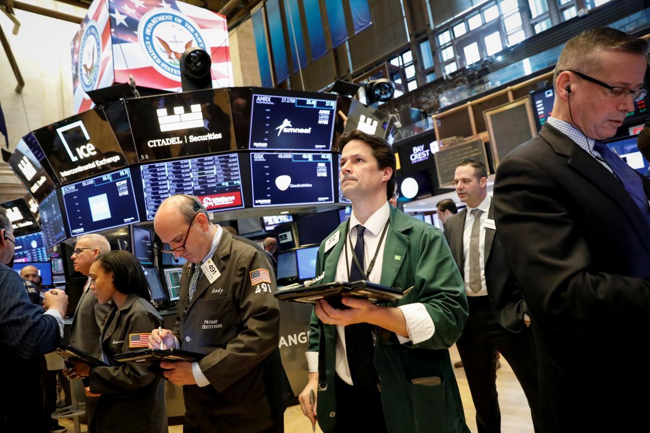 Wall Street slips as US tariffs spark trade war fears
