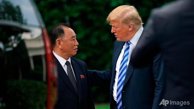 Trump, DPRK's Kim back on for summit