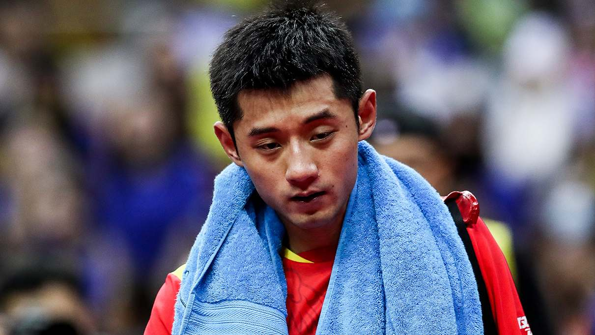 Ex-Olympic champion Zhang ousted in 1st round of China Open