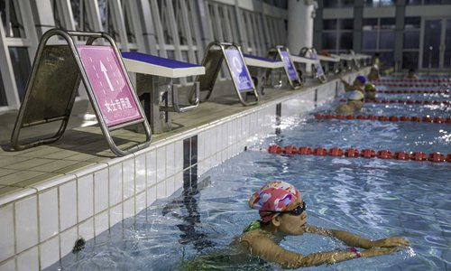 Female-only lane in Chinese swimming pool ignites debate online