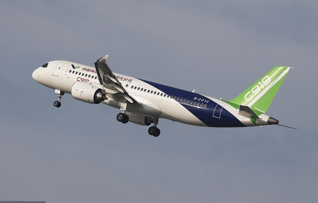 China's HNA, COMAC sign deal for 200 C919, 100 ARJ21 jets