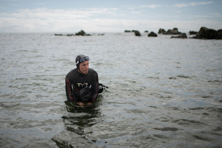 Next stop San Francisco as 'longest swim' embarks from Tokyo