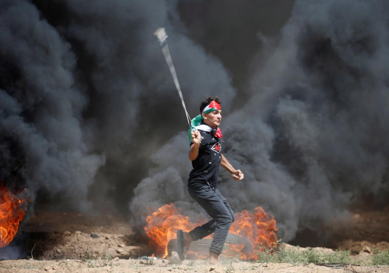 Israeli troops kill three Palestinians as Gaza protest resumes
