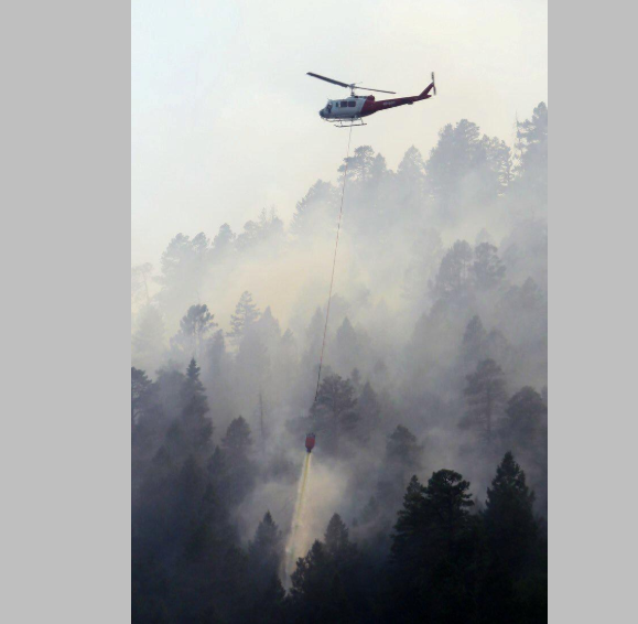 Raging fire in Colorado grows 40 percent as more homes evacuated