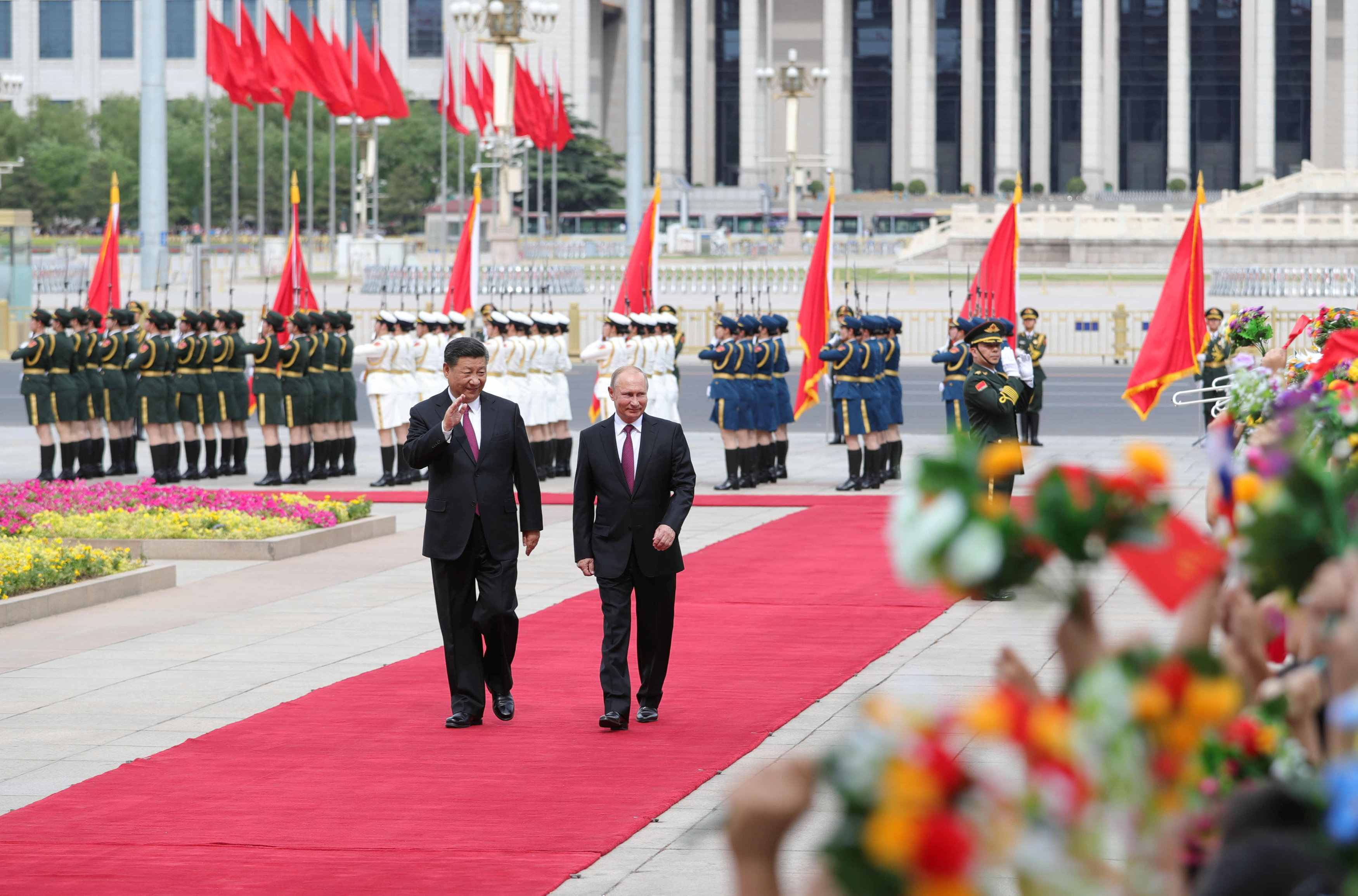 Xi: Sino-Russian cooperation at highest level in the world