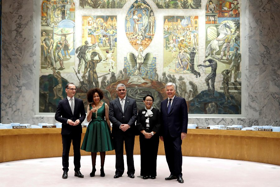 S. Africa, Indonesia, Dominican Republic, Belgium, Germany elected to UN Security Council
