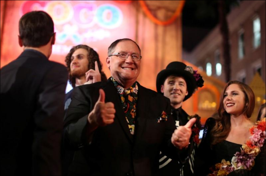 Disney animation chief, Pixar co-founder Lasseter to quit after 'missteps'