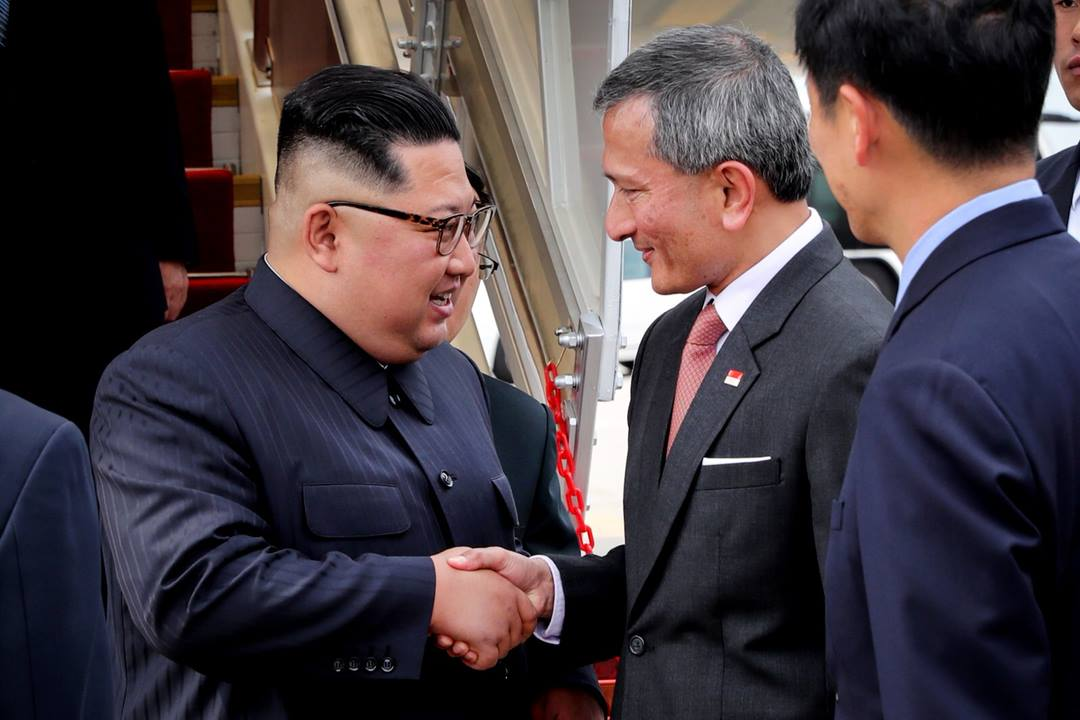 Kim Jong-un arrives in Singapore for summit with Trump: Singapore FM